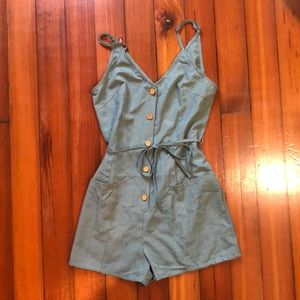 Light green romper